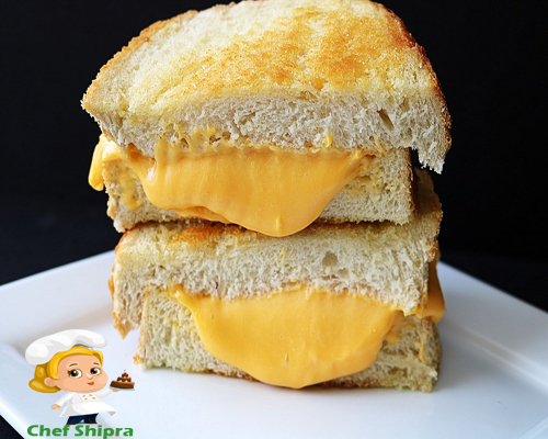 cheese sandwich chefshipra